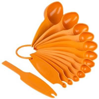 Pourfect 12-Piece Measuring Spoon Set