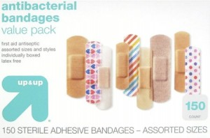 Up and Up bandages from Target