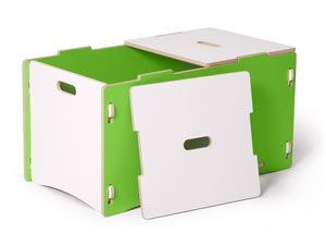 sprout toy box green