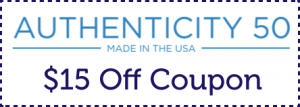 Authenticity 50 coupon