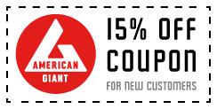 amercian giant coupon