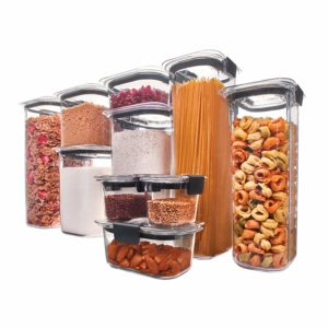 Rubbermaid Brilliance Pantry 10-Piece set with Lids