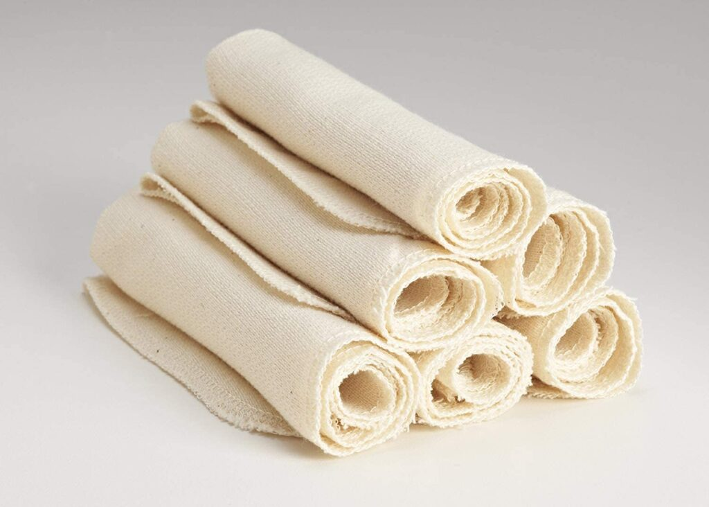 City Threads Organic Cotton Kitchen Towels
